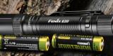 Lampe de poche Fenix E20 V2 compacte et légère, alimentée par des piles AA