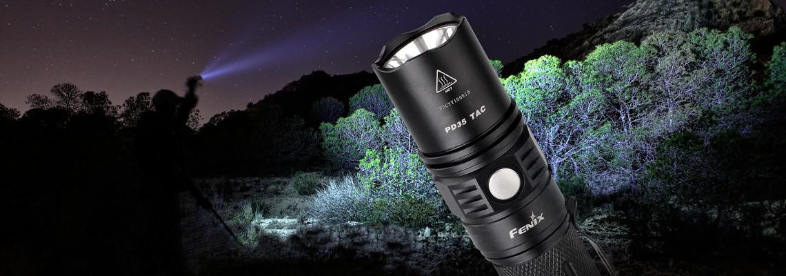 Fenix PD35TAC puissance et fonctions tactiques pour une lampe compacte
