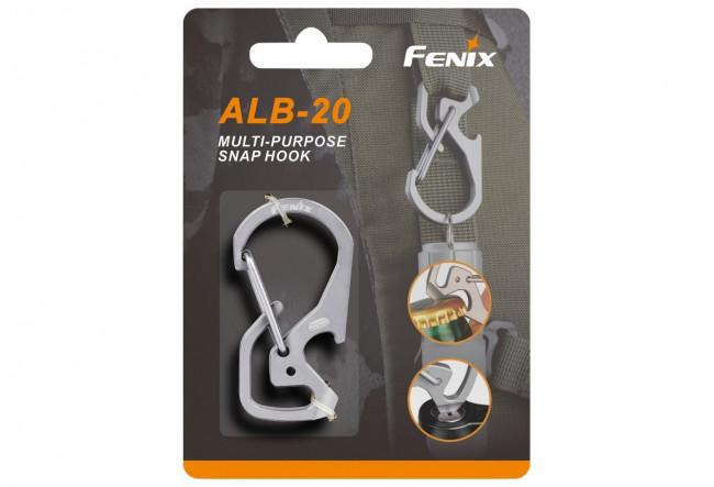 Fenix ALB-20 - Mousqueton multifonctions