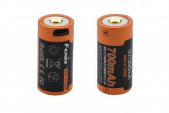 Fenix ARBL16-700UP - Batterie 16340 Li-ion 700mAh Micro USB