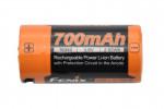 Fenix ARBL16-700UP - Batterie 16340 Li-ion 700mAh Micro USB