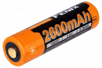 Fenix ARBL18-2600 - Batterie 3,7V 2600mAh