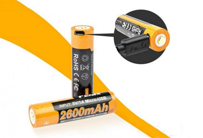 Fenix ARBL18-2600U - Batterie 3,6V 2600mAh
