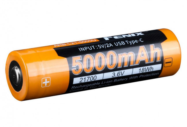 Fenix Batterie ARBL21-5000U Li-ion 21700 5000mAh