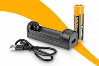 Fenix AREX1KIT - Pack Chargeur + batterie 18650