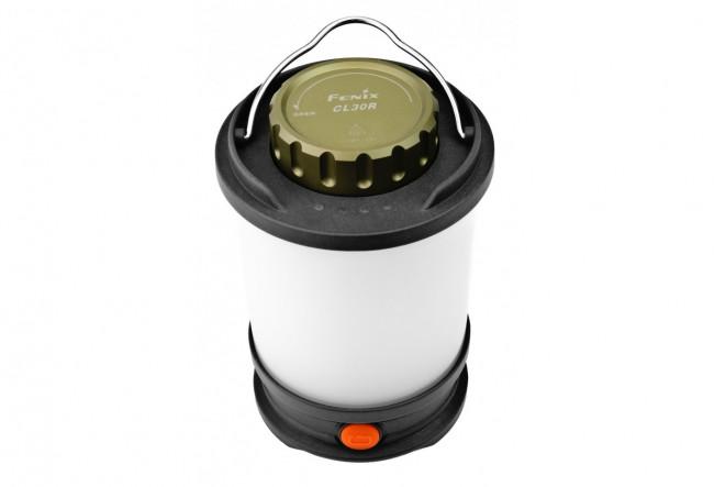 Fenix CL30R Gris - Lampe de camping - 650 Lumens