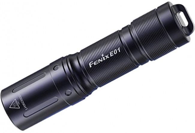 Fenix E01 V2.0 mini lampe de poche porte-clés - 100 lumens