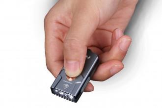 Fenix E03R Lampe porte-clés en métal - 260 lumens