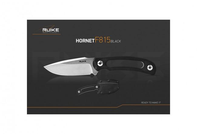 Ruike F815B Hornet Noir - Couteau 190mm