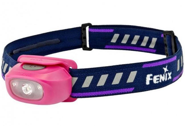Fenix HL16 Rose - Frontale pour enfants - 70 Lumens