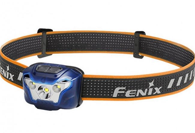 Fenix HL18R BLEU Lampe frontale pour la course à pied - 400 lumens