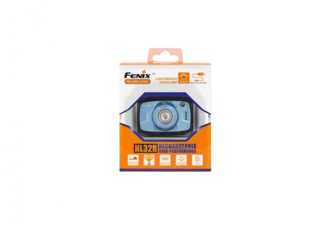 Fenix HL32R Bleu - Frontale hautes-performances - 600 lumens