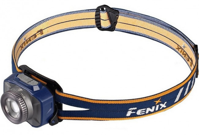 Fenix HL40R Bleu - Lampe frontale avec mise au point - 600 lumens