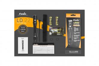 Fenix LD22 Edition 2015 - Lampe de poche compacte - 300 Lumens