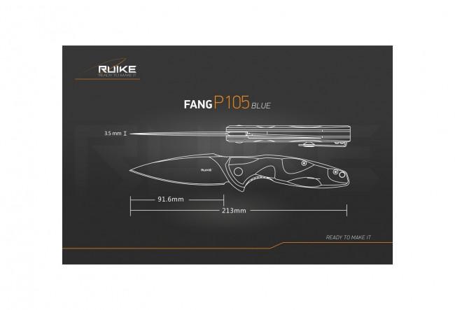 Ruike P105K Fang - Couteau 213mm
