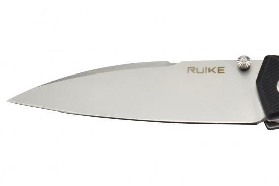Ruike P662-B lame acier 14C28N manche en G10
