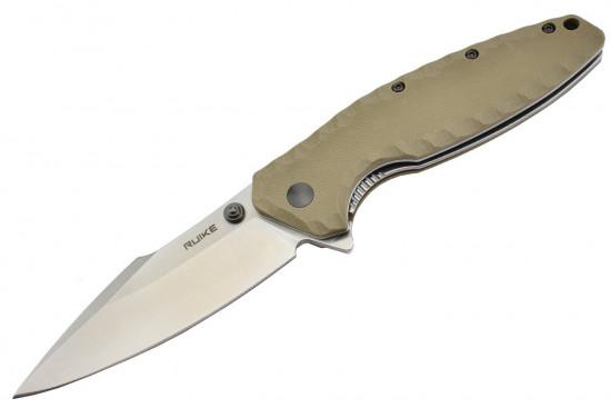Ruike P843-W lame acier 12C27 manche G10
