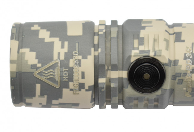 Fenix PD35 CAMO Version - Lampe tactique de camouflage - 1000 lumens