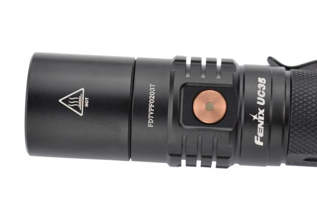 Fenix UC35 V2.0 2018 - Lampe tactique compacte - 1000 lumens